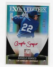 2011 Donruss Extra Edition Prospects ANGELO SONGCO Red Ink AUTO, RC Mint++ 04/25