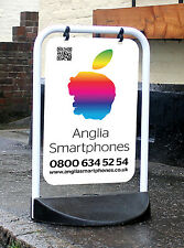 More details for swinging pavement sign outdoor advertising shop a-board eco swinger *brand new*