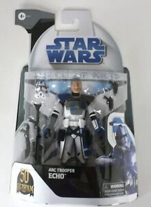 """Arc Trooper Echo, Star Wars The Clone Wars, 6"""", Black Series, Target Exclusive"""