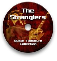 THE STRANGLERS ROCK GUITAR TAB TABLATURE SONG BOOK ANTHOLOGY TUITION SOFTWARE CD