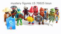 Playmobil ALL 12 Boy Figures Mystery Series 15 70025
