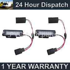 2X FOR PORSCHE CAYENNE 2003-10 CAYMAN 2006-10 18 WHITE LED NUMBER PLATE LAMPS
