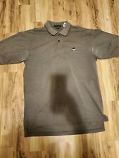 Vintage Nike Golf Polo Brown, size Large
