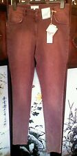 M&S Angel Women's Trousers Berry Size to fit Waist 81cm 32 in long