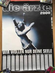 DIE ÄRZTE - A1 Poster/Plakat - Kalender 2000