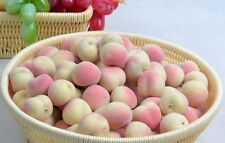 20pc artificial mini peach fake fruit faux food home kitchen party hotel wedding