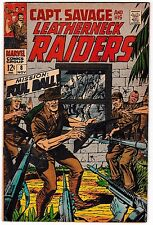 CAPTAIN SAVAGE AND HIS LEATHERNECK RAIDERS #8 (FN-) Dick Ayers Art! Silver-Age