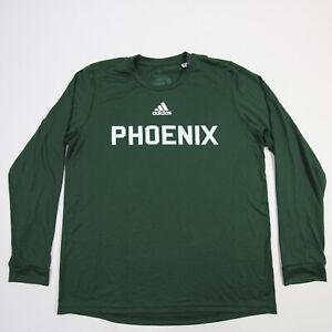 UW Green Bay Phoenix adidas Long Sleeve Shirt Men's Green New with Tags