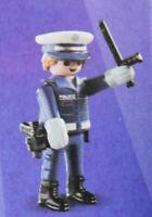 PLAYMOBIL 70242 Figures Boys Serie 17, Polizist mit Pistole Schlagstock # 11 NEU