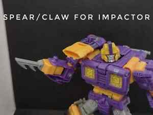 Claw for Impactor Siege Transformers JRC DESIGN UPGRADE KIT