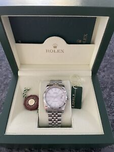 Rolex Datejust 116234 Silver Dial Stainless Steel Box Booklets Tags