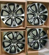 4 cerchioni 18' (18x7.50J) Toyota Originali Rav 4 in Lega leggera. Bicolore