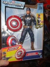 "CAPTAIN AMERICA THE WINTER SOLDIER 10"" SHIELD STORM CAPTAIN AMERICA, UNOPENED"