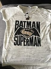 Primark Atmosphere Batman Superman Top Size 12