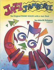 Jazz Jamboree 6 Piano Solos John Schaum Serenade Syncopated Waltz Grade 3