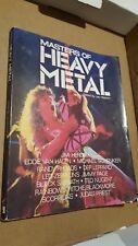 Masters of Heavy Metal book Jas Obrecht Jimi Hendrix rare Randy Rhoads EVH quill