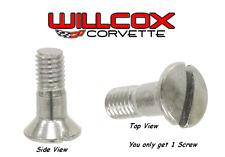 "Corvette Inside Mirror Pivot Screw 63-76 (1 screw) ""Correct Shoulder Screw"""