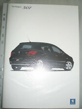 Peugeot 307 range brochure Dec 2004