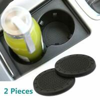 2 Pcs Car interior Anti Slip Cup Mat for Mercedes Benz Interior Accessories 2.75 Inch