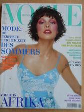 VOGUE GERMANY 6 - 1997 Mila Jovovich Patti Smith Jean Rouch Peter Beard Afrika