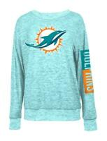 Miami Dolphins Sweater Women's Knit Pullover