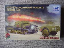 Bronco 1/35 Italian CV3/35 Lanciaflamme Tankette (flamethrower WWII)