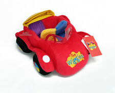 "Wiggles BIG RED CAR soft plush toy 11""/28cm stuffed soft toy NEW"