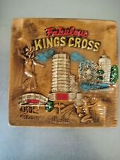 Kings Cross Collectible Retro Souvenir Plate Ashtray. Unused in Box. 4 Available