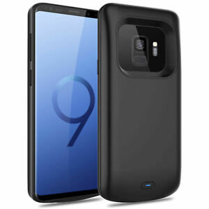 External Battery Charger power Black Case for Samsung Galaxy S9 S9 Plus Note 9