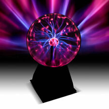 "6"" Plasma Ball Globe Light Responses To Touch And Sound"