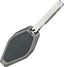"Inova Microlight Cobalt Blue BB-B 1 7/8"" overall length. Silver and black impact"