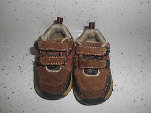 Baby Boy's Size 3 Brown Casual  Shoes Faded Glory GUC
