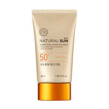 [The Face Shop] Natural Sun Eco Power Long Lasting Sun Cream SPF50+ PA+++ 50ml