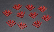 lot of 10 red K'Nex 3 position connectors   - combined shipping