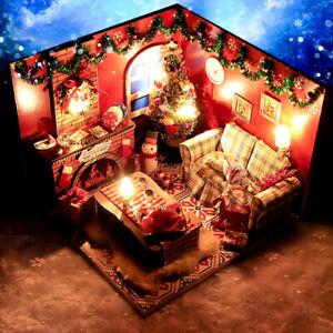 2021 My Loving Christmas Memories DIY Handcraft Miniature Project Dolls House