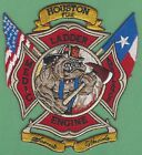 HOUSTON TEXAS FIRE DEPARTMENT STATION 56 COMPANY PATCH BULLDOG