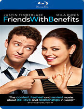 FRIENDS WITH BENEFITS - BLU-RAY - REGION B UK