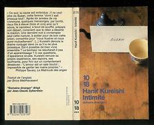 Liovre - Hanif Kureishi - Intimité - Editions 10-18