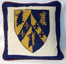 Royal Regiment of Artillery  Needlepoint Cushion Cover Tapestry Handmade
