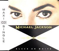 Michael Jackson Maxi CD Black Or White - Europe (EX+/M)