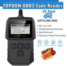 TOPDON AL200 Automotive OBD2 EOBD Code Reader Diagnostic Scan Tool Check Engine