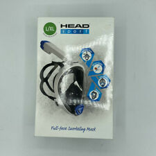 New HEAD Sport Sea Vision Full Face Snorkeling Mask L/XL