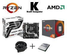 PC Bundle AufrüstKit AMD Ryzen 5 1500X (4x3,7GHz) + AsRock A320-M Pro4 - NEU/OVP