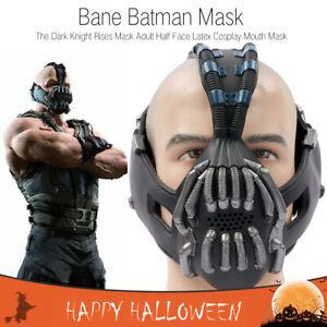 Bane Batman The Dark Knight Rises Mask Adult Half Face Latex Cosplay Mouth Mask