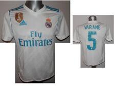 Rare 2017-18 FC Real Madrid Varane #5 Home Football Shirt Patch 2016 Jersey - LB
