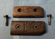 Original Ww1 Canadian Ross M1905 Bayonet Grips Scales W/ Hardware Us Markings