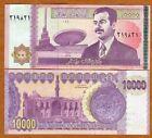 Iraq, 10000 (10,000) Dinar, 2002, P-89, UNC > The Last Saddam Hussein Issue