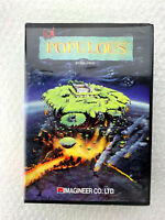 "Populous ""Good Condition"" X68000 Sharp Retro Computer Japan"