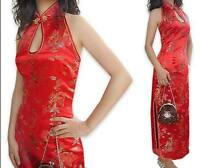 Chinese Silk /satin women's Dress/Cheongsam sz:6-8-10-12-14-16