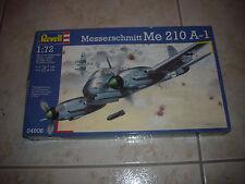 REVELL   MESSERSCHMITT  ME 210 A-1  PLASTIC MODEL 1/72